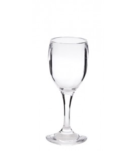 Cordial Acrylic Stem Glass 4 oz. Rim-full