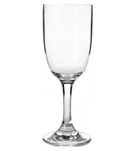 Wine Glass Acrylic Stem 8 oz. Rim-full