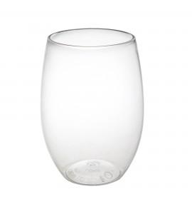 Rimless PET Plastic Wine Tumbler 16 oz.
