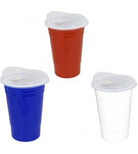 The Lidded Party Cup, 18 oz.