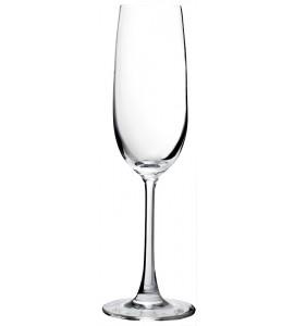 Vigneto Sheer Rim Champagne Flute , 7.3 oz. Rim-full