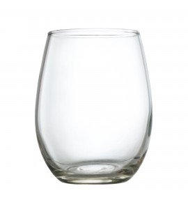 Meritus Stemless Wine Tasting Glass, 5.5 oz. rimfull