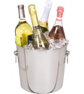 Ideal Quattro™ Wine and Champagne Chiller, Stainless Steel