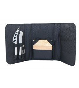 Picnic Cheese Set with Pine Board (5 pcs.)