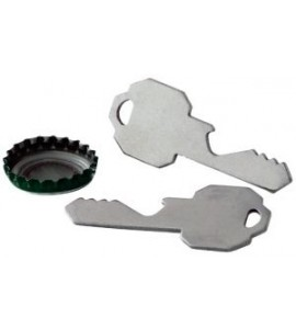 Key Bottle Opener, Stainless Steel
