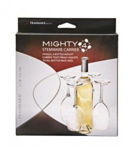 Mighty 4 Wine Glass Holder