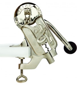 Cyklop™ Uncorking Machine, Nickel Plated