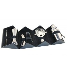 Cocktail Bar Set With Case