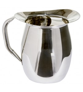 Bell Pitcher 3 qt 8 oz. with Ice Guard, Stainless Steel