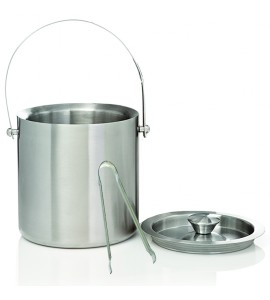 Jamboree Deluxe Ice Bucket (2 Liter), S/S With Tongs