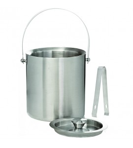Jamboree Deluxe Ice Bucket (3 Liter), S/S With Tongs