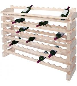 Modularack® Pro  End Display Units 72 Bottles - Natural