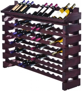 Modularack® Pro End Display Units 72 Bottles - Stained