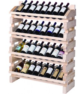 Modularack® Full Display Rack 32 Bottles - Natural