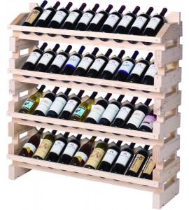 Modularack® Full Display Rack 40 Bottles - Natural