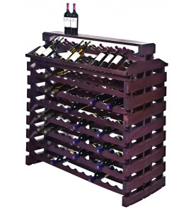 Modularack® Island Fixture Deluxe 192  Bottles – Stained