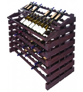 Modularack® Waterfall Fixture  156 Bottles - Stained