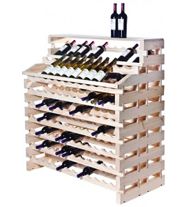Modularack® Waterfall Fixture Deluxe  180 BOTTLES - Natural