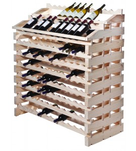 Modularack® Waterfall Fixture  204  Bottles - Natural