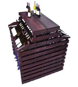 Modularack® Gondola Fixture Deluxe 408 BOTTLES - Stained