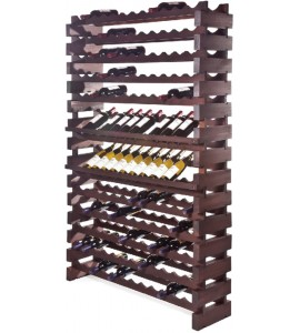 Modularack® Wall Mount Units144 Bottles - Stained