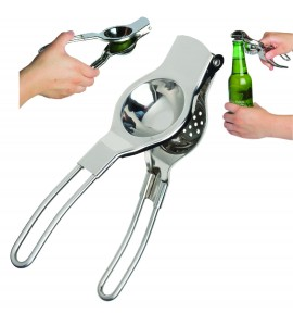 Bartender's Lemon/Lime Squeezer. Stainless Steel