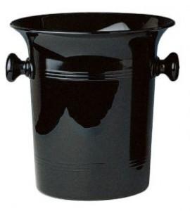 Vino Bottle Cooler, Black Acrylic