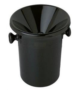 Wine Tasting Receptacle (Spittoon), Black Acrylic