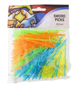 Sword Picks, Translucent (160 Count)