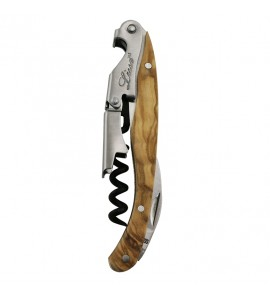 Lisse™ Waiter's Corkscrew, Olive Wood Handle
