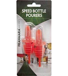 Speed Bottle Pourers, Two on a Card