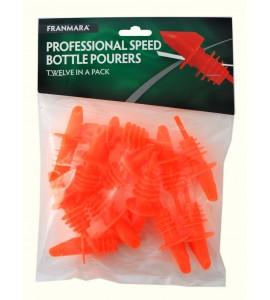 Speed Bottle Pourers, Twelve Pack