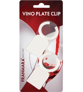 Vino™ Plate Clips - Two (No. 8060) on a Card