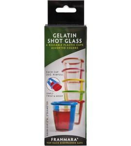 Gelatin Shot Glass, Set of 6