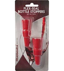 Flex-Seal Bottle Stopper -Two #8165 On a Card