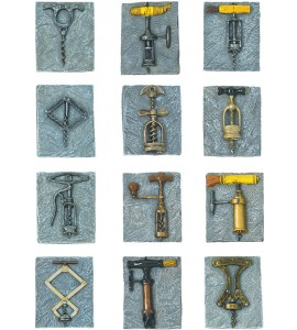 Birmingham Antique Corkscrew Magnet Collection