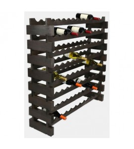 MODULARACK 88 BOTTLE 8H x 11W STAINED