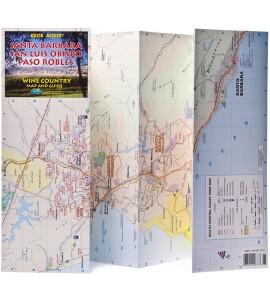 Santa Barbara, San Luis Obispo, Paso Robles Wine Country Map and Guide