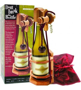 Don't Break the Bottle™ Puzzle, Corkscrew Edition