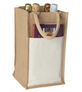 Jute Vino-Sack™, Four Bottles