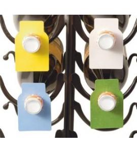 Wine Bottle Paper Tags - 4 Colors