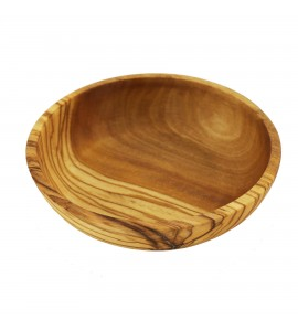 Small Olivewood Condiment Bowl