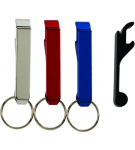 Key Ring Aluminum Bottle Opener, Anodized Finish