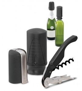Wine & Sparkling Starter Set (3 pcs.) Black. Website Exclusive