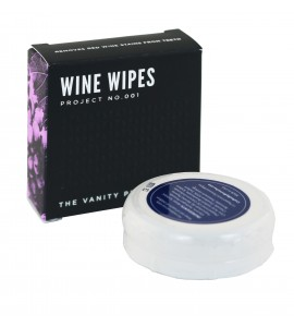 Wine Wipes, Mirror Compact with 15 Wipes