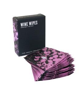 Wine Wipes, Single Pack, Set of 12 ea.
