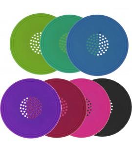 Vino-Vent™ Cover & Coaster - Silicone