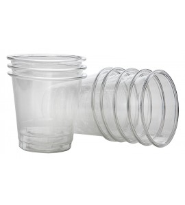 Disposable Shot Glasses, 2 oz., Set of 100