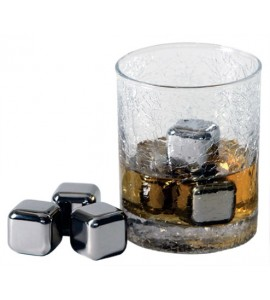 Steel-Ice™  Cube, Stainless Steel (Bulk)