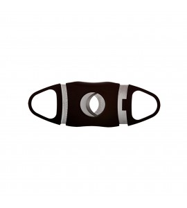Oval-Shaped Cigar Cutter, Double Cut Blade
